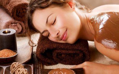 Trattamento corpo al cioccolato
