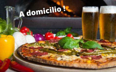 A domicilio: Menù pizza con consegna gratuita