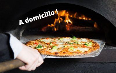 Menù Pizza Delivery o Asporto